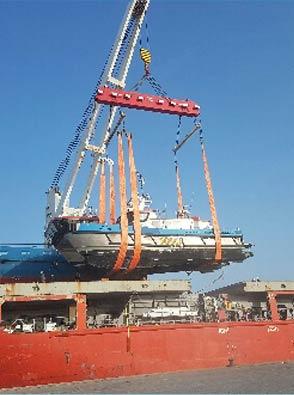 Yacht Transport Service